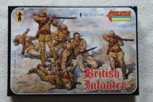 Strelets 1/72 ST0038 British Infantry (Colonial Wars)